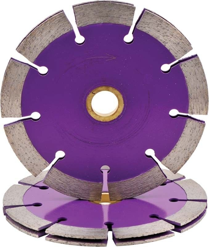 Sintered  3 / 7 Inches Concrete Diamond Blade   Marble Cutting Double Tuck Point